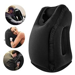 VinMas New Travel Pillow Sleep Aid, Premium Comfortable Infl