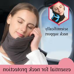 TRAVEL PILLOW Super Soft Neck Support  - Machine Washable