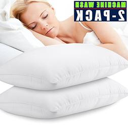 Jepson Pillows For Sleeping Down Alternative Soft Hotel Bed
