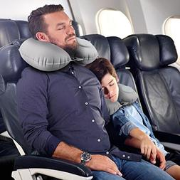 Gohitop Travel Pillows for Airplanes Self Inflating Travelli