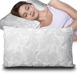 Lenakrui Pillows For Sleeping Side Sleeper Memory Foam Pillo