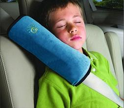 2 pcs-Plummay Child Safety Belt Shoulder Pads Sleep Pillow S