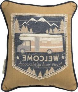 Primitives by Kathy Our Neck of the Woods Throw Pillow, 10x1