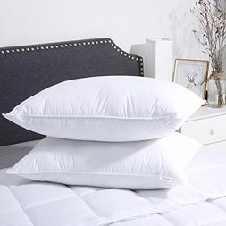 LANGRIA Luxury Hotel Collection Bed Pillows Plush Down Alter