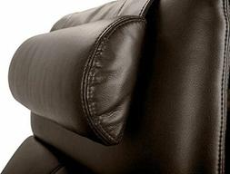 Octane Seating OCT BR Octane Brown Leather Head and Neck Pil