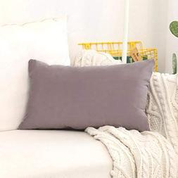 HOME BRILLIANT Rectangular Oblong Accent Throw Pillow Cover