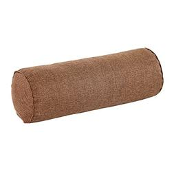 16x6 Inch Round Neck Roll Pillow Tube Semi-Roll Cervical Pil