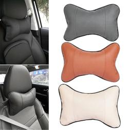 Safety Bone Restraint Car Seat Headrest Cushion Pad Head Nec