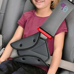 seat belt pillow and adjuster with clip