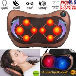 Shiatsu Shoulder Neck and Back Massager Pillow with Heat Dee