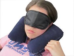 RiverView Enterprise Sleep Anywhere Inflatable Travel Pillow