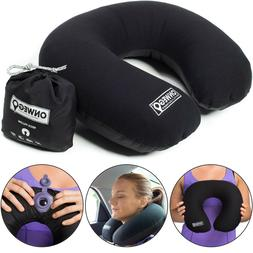 ONWEGO Inflatable Neck Pillow for Travel and Airplane/Best B