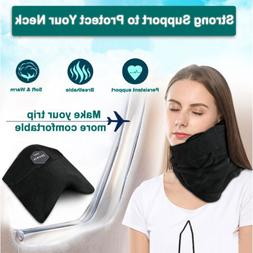 Soft Neck Support Travel Pillow Scarf Wrap Neck Pillow Fligh
