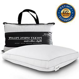 spring bed pillows queen breathable