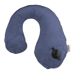 Bucky T400SAI Gusto Inflatable Neck Pillows, Sailor Blue