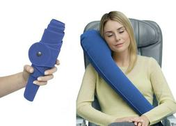 NEW Ultimate InflatableTravel Pillow Neck Pillow Airplane Of