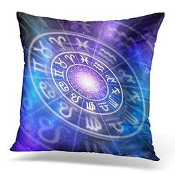 throw pillow cover blue abstract