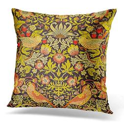 AileenREE Throw Pillow Cover Floral Patterns William Morris