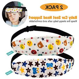 2Pc Toddler Car Seat Neck Relief and Head Support,Pillow Sup