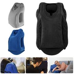 Travel Neck Pillow Inflatable for Airplanes Flight Cervical
