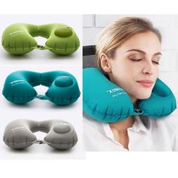 Travel Neck Pillow Inflatable Pillow Soft U Shaped Car Head
