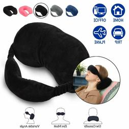 Travel Pillow Eye Mask Neck Pillow for Head Support Hand Was