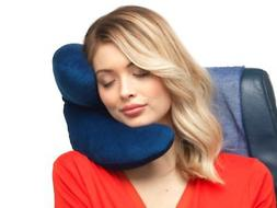 J Pillow Travel Pillow, Head, Chin and Neck Support, British