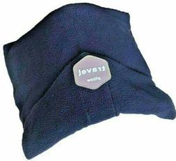 Travel Pillow - Unisex Neck Support Wrap - Navy Blue New