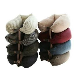 Travel U Shaped Neck Support Pillow Car Airplane Nap Rest Pi