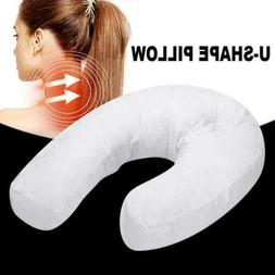 U-shape Side Sleeper Neck & Back Pillow Holds Your Neck / Sp