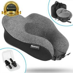 U-Shaped Memory Foam Rebound Travel Pillow Neck Support Head