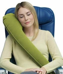 Ultimate Travel Pillow Neck Pillow Ergonomic & Adjustable Fo