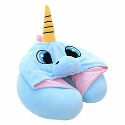 Unicorn Neck Pillow for Airplane Travel | Adults & Kids Trav