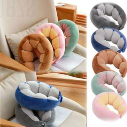 US Memory Foam Neck Support Pillow  Soft Cushion Travel Car