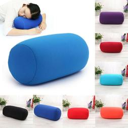 US Travel Sleep Microbead Back Cushion Roll Throw Pillow Nec