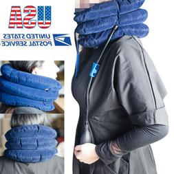 USA Massager Neck Brace Support Cervical Collar Air Traction