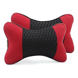 uxcell 3D Mesh Fabric Neck Rest Pillow Headrest Cushion Pad
