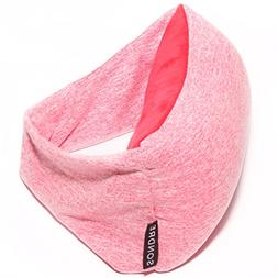 Voyage Pillow  - 2 in 1 Travel Pillow and Eye Mask - Compact
