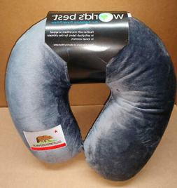 World's Best Cushion Soft Microfiber Neck Pillow, California