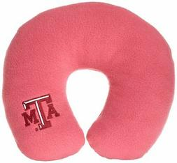 World's Best NCAA Feather-Soft Microfiber Neck Pillow, Texas