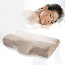 MQYH Zero Pressure Butterfly Pillow Neck Care Pillow Slow Re